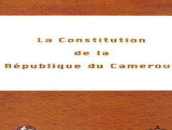 La constitution du Cameroun