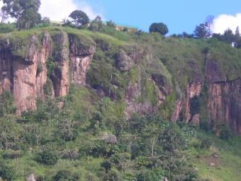 Le relief du Cameroun